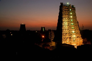 Best hotel in Madurai, best view of meenakshi amman temple tower from roof top